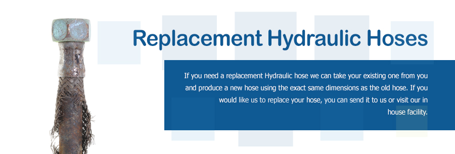 Replacement Hydraulic Hoses